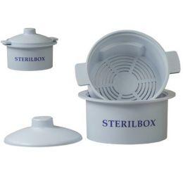 Nádoba na sterilizáciu vrtákov v autokláve Sterilbox
