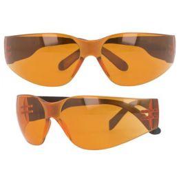 Ochranné okuliare UV400 100% oranžové