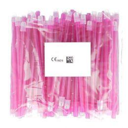 Odsávače vylučovače slin 100ks ružové