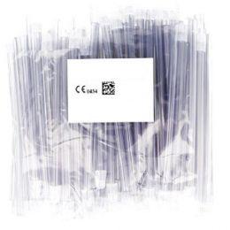 Odsávače vylučovače slin 100ks transparentné