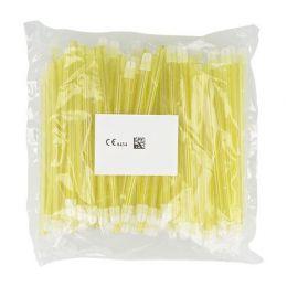Odsávače vylučovače slin 100ks žlté