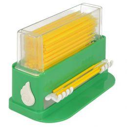 Zásobník na mikroaplikátory zelený (+100ks žltých mikroaplikátorov zadarmo)