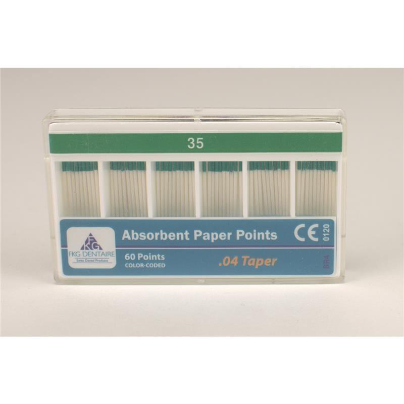 papierové tipy FKG Paper Points 04/35 60ks medicorp.sk